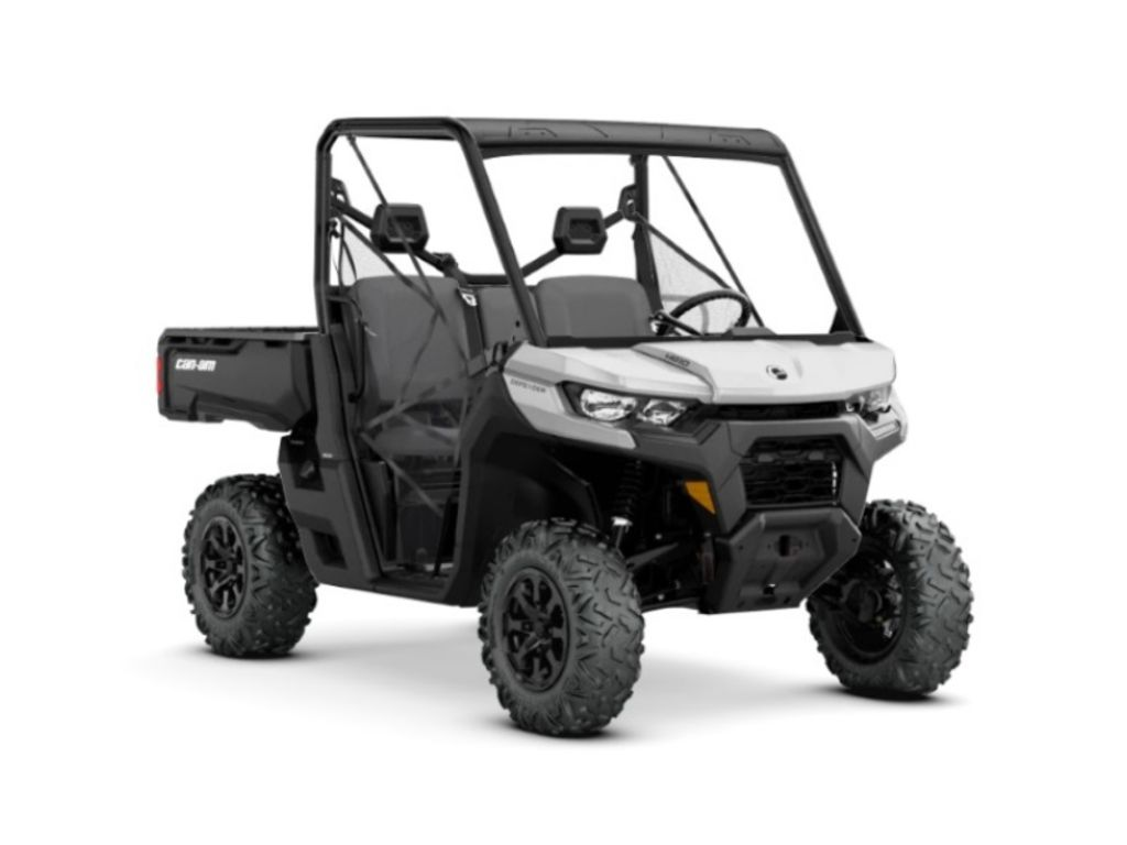 New 2020 Can-Am® Defender DPS™ HD10 Hyper Silver