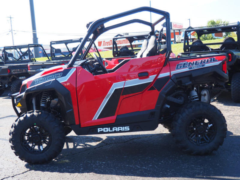New 2019 Polaris® GENERAL® 1000 EPS Premium Havasu Red Pearl