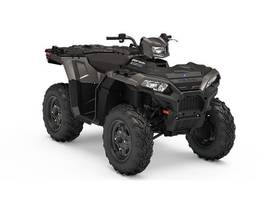 New 2019 Polaris® Sportsman® 850 Titanium Metallic