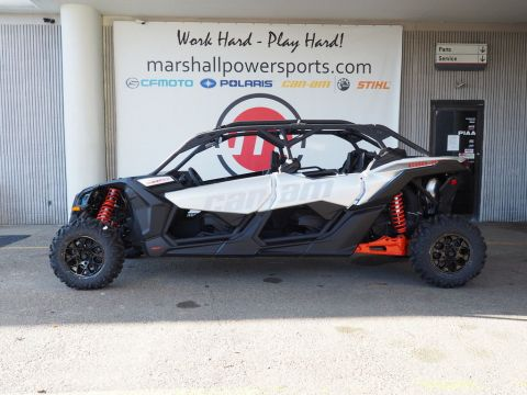 New 2020 Can-Am® Maverick™ X3 Max Turbo Hyper Sivler & Can-Am Red